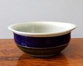 Elisabeth. Vintage Rörstrand of Sweden lugged cereal bowl, Marianne Westman design.