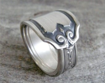 Antique Spoon Ring, Silver Pattern: Nineteen