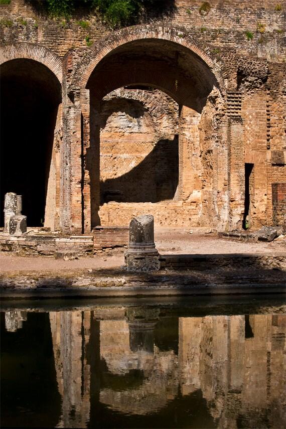 Ruins at Hadrian's Villa I  Archival Print