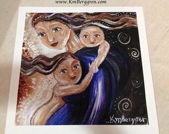 Be Near - Archival 12x12 signed motherhood print