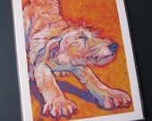 LABRADOODLE Dog 8x10 Signed Art Print from Painting by Lynn Culp