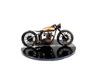 Triumph Bobber Motorcycle sculpture