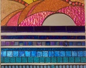 Stained Glass Mosaic Wall Hanging