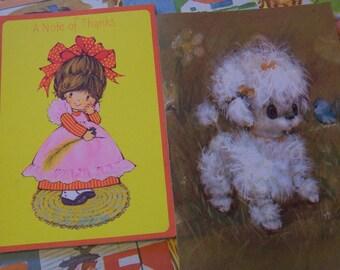 little cute vintage cards