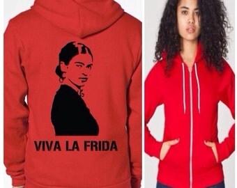 viva la frida hoodie