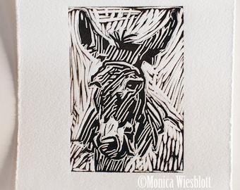 Nepal Donation Print- Animal Earthquake Relief-signed original artwork