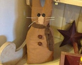 Brown Bunny Shelf Sitter