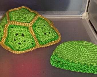 Baby Turtle Photo Prop, Crochet Turtle, Tortoise, Made to Order