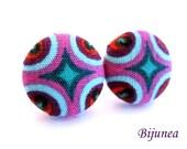 Indian earrings - Purple indian stud earrings - Indian studs - Indian posts - Indian post earrings sf1211