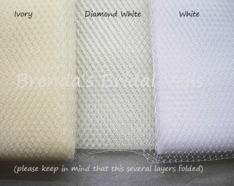 Sample Swatch for Birdcage Netting Veil