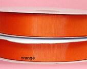 "1.5"" x 50 yards Solid Grosgrain Ribbon-   Orange"