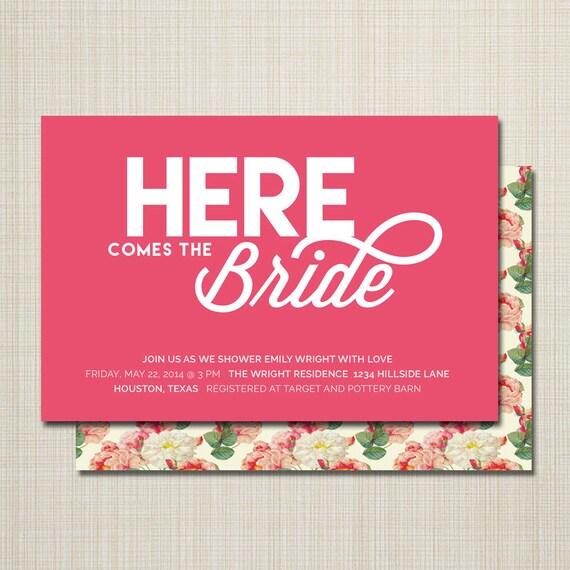Bridal Shower Invitations Unique Bridal Shower Invitations