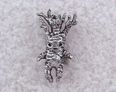 NEW Green Girl Studios Mandrake Pewter Charm/ Bead