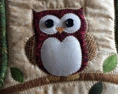 Owl Christmas stocking-Personalized for free