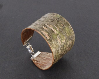 Birch bark wood bracelet, Clade II