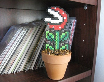 Super Mario Piranha Potted Plant Perler Bead