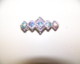 Crystal and Rhinestone Bridal Hairclip