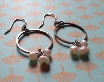 Hampton Pearl Cluster Earring