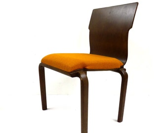 FREE SHIPPING Mid Century Bent Plywood Dining Chairs Set of 6