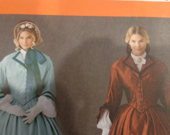Simplicity 1818 misses' Civil War Era costume pattern- 2012