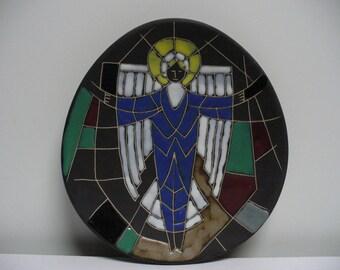 Arol Halden Decorative Collectible Plate - Angel
