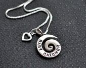 Baby Catcher Spiral Necklace