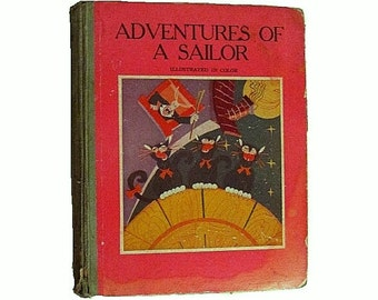 Adventures of a Sailor - 1932 - Adventures of Seesick and Trampo - Leo Nowak - Superman illustrator