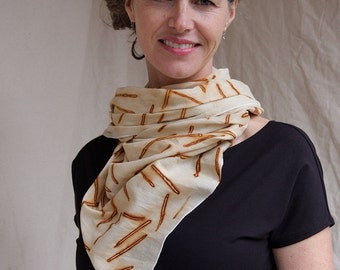 Rusty Nails: Cotton Scarf