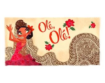 Olé, Olé! - Large Print