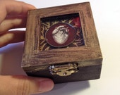 Cool Heart Box, Anatomical Heart Little Painted Treasure Box-Mother's Day Gift Idea