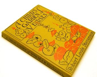 1916 A Child's Garden of Verses by Robert Louis Stevenson,