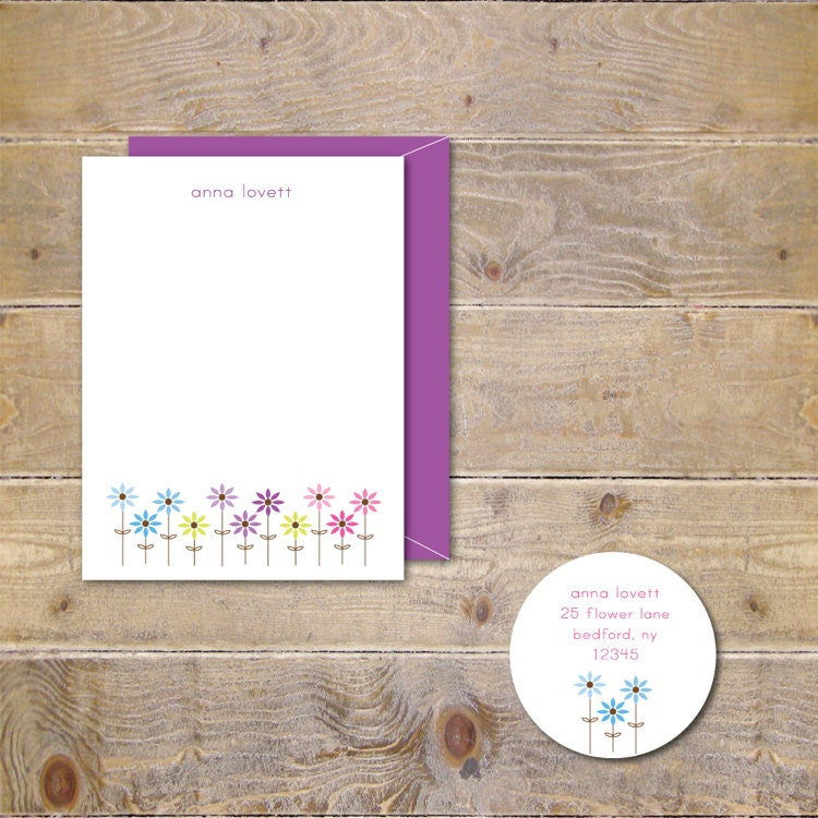 Gift For Her Stationery Set Stationary Set Personalized