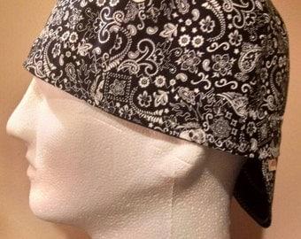 Skull Bandana Custom Made Welding Cap / Hardhat Liner