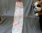 Plastic Bag Holder Sock, Love N Kisses Print