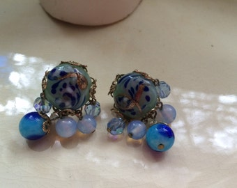 Beautiful Coro vintage earrings
