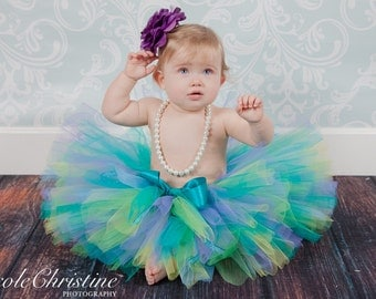 Teal Mist,Party Tutu,Birthday,Photo Shoots, All Occassion  Sizes up to 6yrs