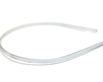 24 Metal Headband Blanks - 5mm (3/16 inch)