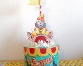 Retro-like Clown Box/Centerpiece/ Decoration Box
