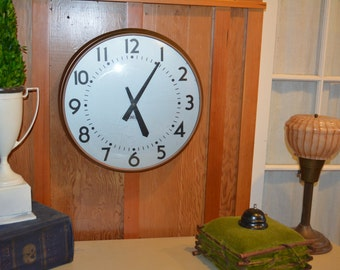 Vintage Standard Wall Clock