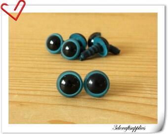 8 mm  deep blue  eye amigurumi eye doll eyes cat eye  24 pieces EB78