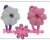 Set of 4 -18 Inch Doll Flower Headband Boxed Gift Set