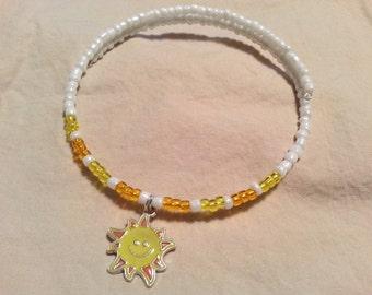 Childrens Necklace, Sun