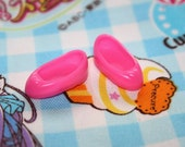 Middie Blythe Pink Heart Slipper shoes