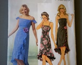 2005 - Butterick Pattern B4449 UNCUT - Size EE (14,16,18,20) - Misses' Dress