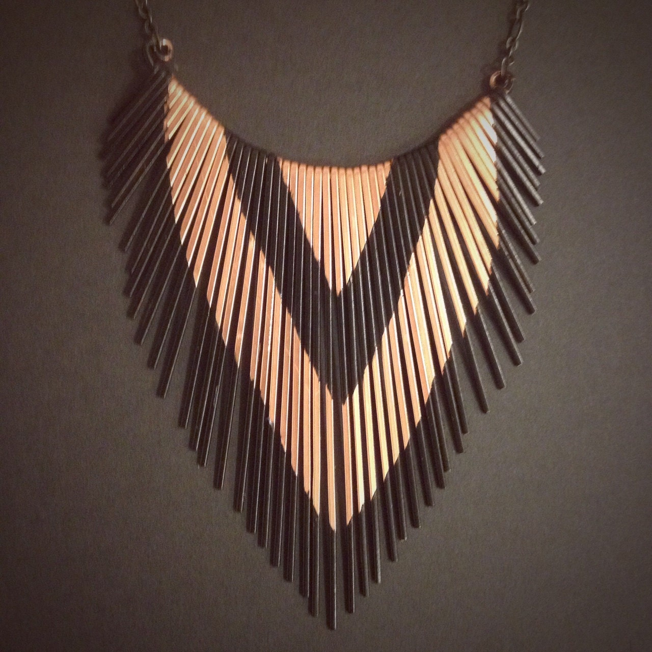 Porcupine Quill Jewelry Fringe Necklace...