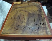 Enter the etys.com coupon LEAPYEAR2016 at etsy checkout for a 29% discount!  Artisan Cribbage Board - Vegas - The LandMark