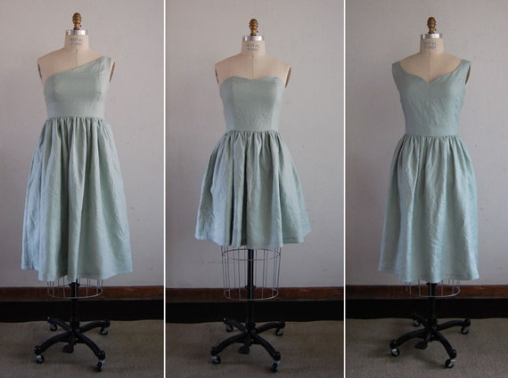 Mismatched Bridesmaid Dresses for Your Wedding in Pure Linen Handmade in USA