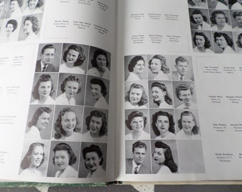 Bobby Soxer Scholar - 1945 Wooster College Yearbook