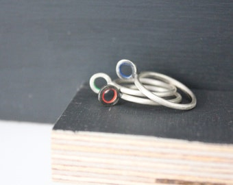 omicron ring / pendant
