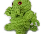 CUSTOM LISTING Deluxe Crochet Cthulhu for Claudio Monterosso